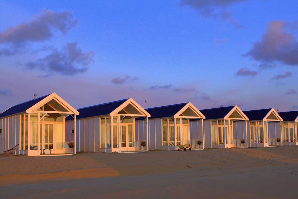 strandslaaphuisjes